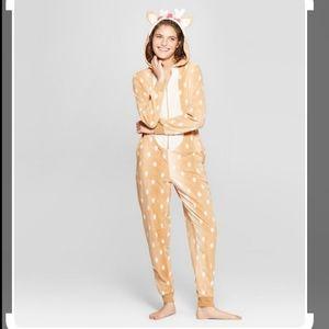 Deer onesie pajamas